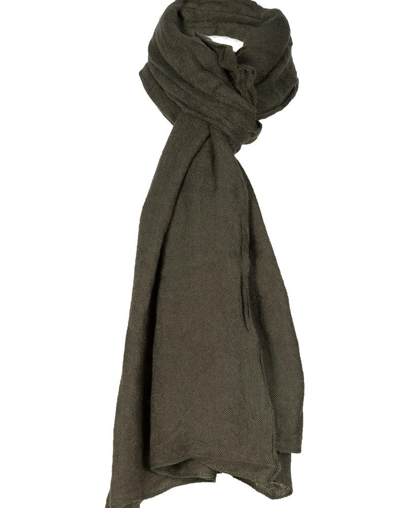 Sjaal Emma groen