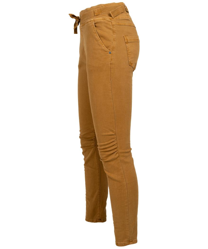 Gemma Ricceri Jog jeans mc okergeel