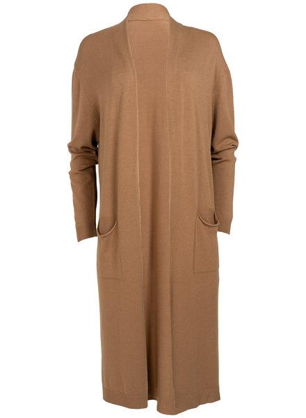 Gemma Ricceri Vest Clara camel