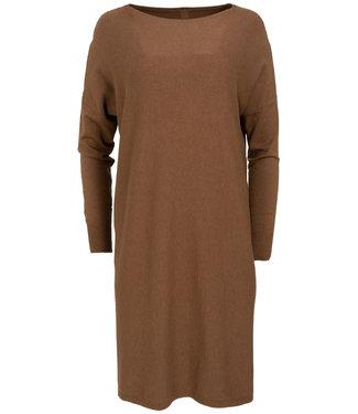 Gemma Ricceri Jurk Laura gebreid camel
