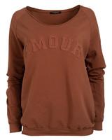 Gemma Ricceri Sweater Amour bruin