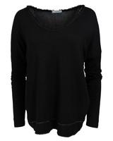 Gemma Ricceri Shirt basic Lola zwart