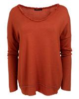 Gemma Ricceri Shirt basic Lola roestbruin