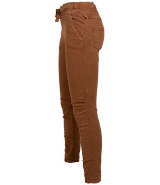 Melly&Co Jog jeans MC bruin