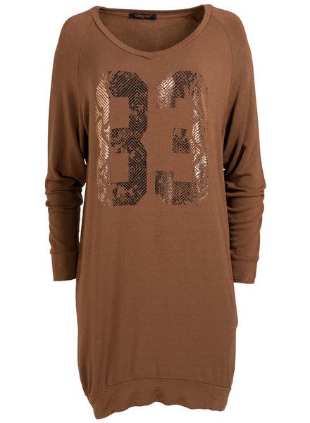 Gemma Ricceri Jurk 83 camel