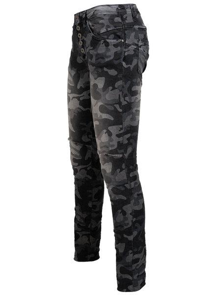 place du Jour Jog jeans camouflage