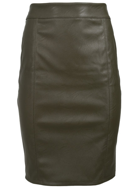 Gemma Ricceri Rok leather look groen