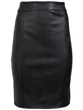 Gemma Ricceri Rok leather look zwart