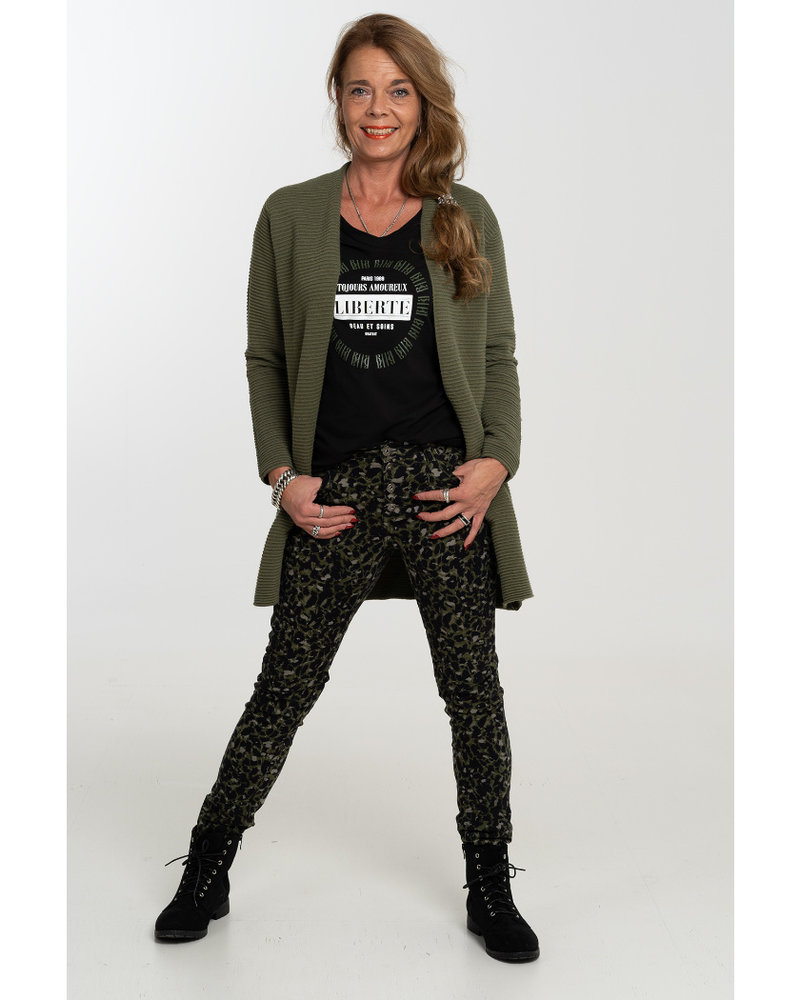Gemma Ricceri Vest Donna groen