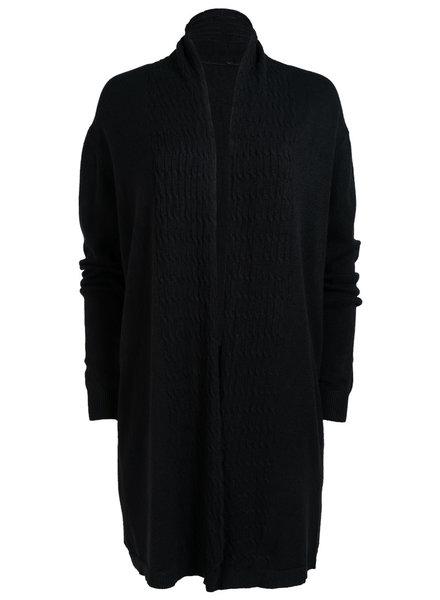Gemma Ricceri Vest Macy zwart