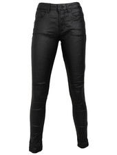 Gemma Ricceri Broek leather look zwart
