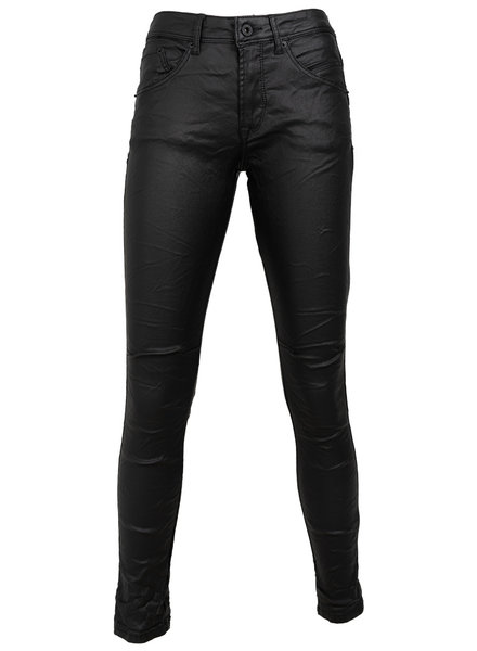 Gemma Ricceri Broek leather look zwart