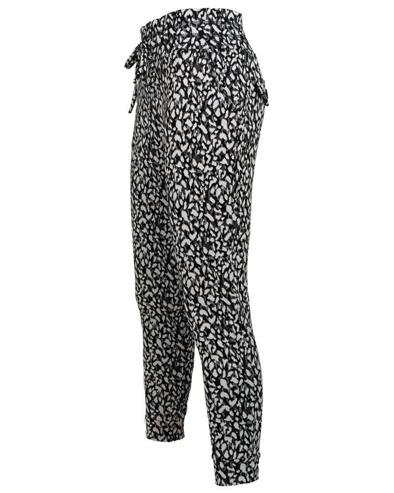 Rebelz Collection Broek Yara  zwart/wit