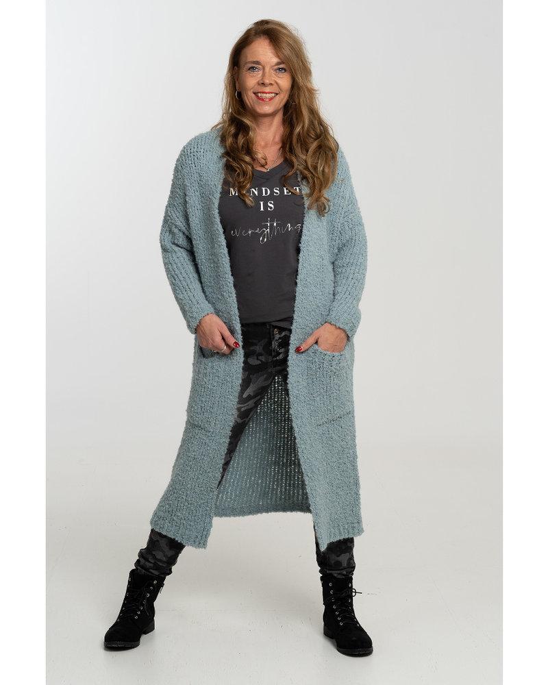 Gemma Ricceri Vest Koosje mint turquoise