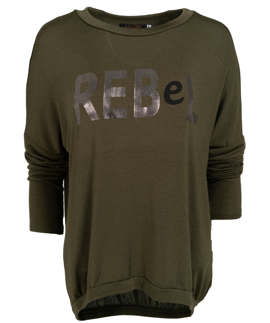 Gemma Ricceri Shirt rebel groen