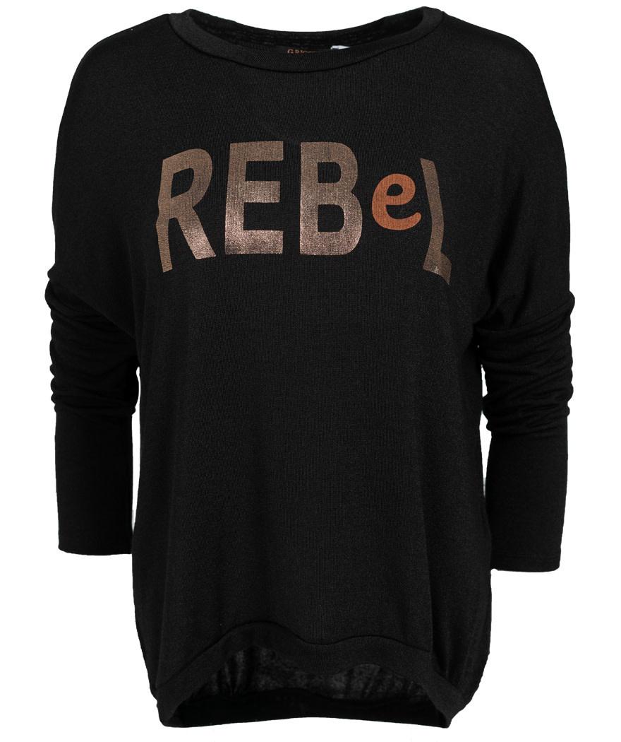 Gemma Ricceri Shirt rebel zwart
