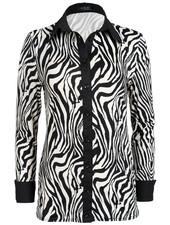 Rebelz Collection Blouse travelstof  Manon zebraprint