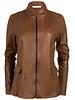 Gemma Ricceri Blazer Leather look camel