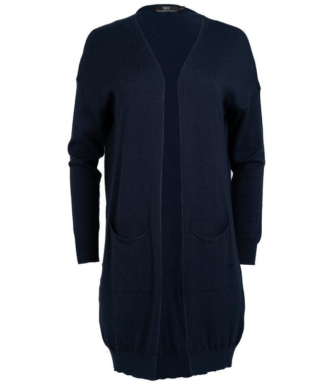 Wannahavesfashion Vest Billy blauw