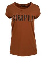 Gemma Ricceri Shirt Simple camel
