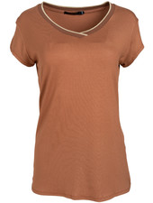 Gemma Ricceri Shirt camel Lua