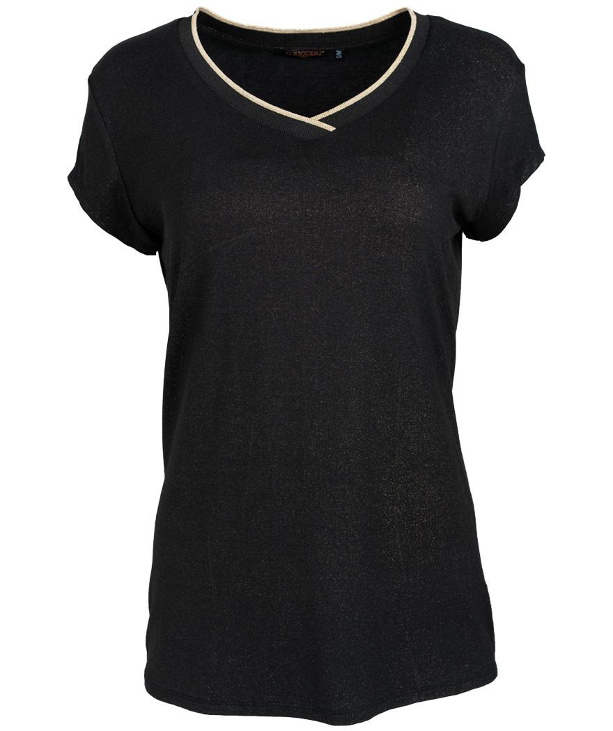 Gemma Ricceri Shirt zwart/goud Lua