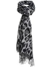 Wannahavesfashion Sjaal zwart panterprint Fay