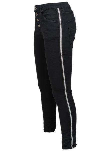 place du Jour Jog jeans zwart Mari