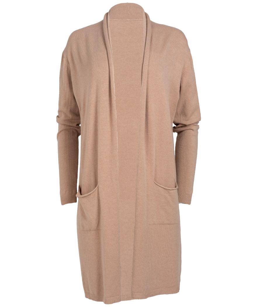 Gemma Ricceri Vest Clara licht camel