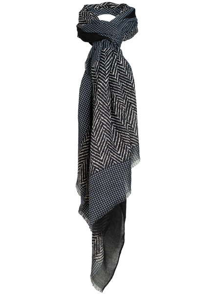 Wannahavesfashion Sjaal zwart/blauw Jovi