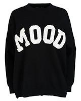 Rebelz Collection Trui zwart Mood