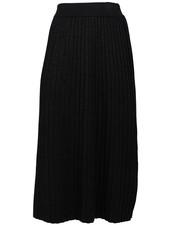 Rebelz Collection Rok zwart plisse Do