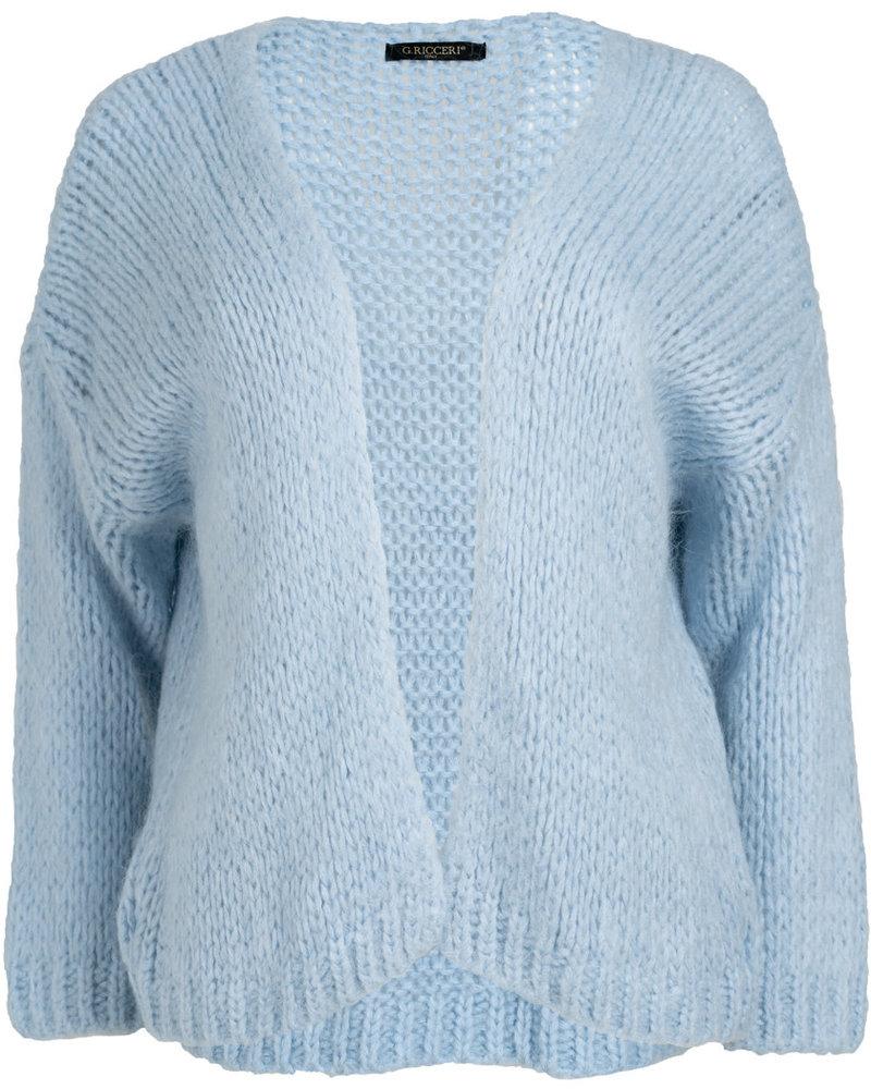 Gemma Ricceri Vest lichtblauw Gaby