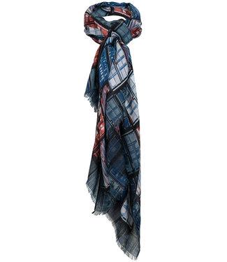 Wannahavesfashion Sjaal blauw Netty