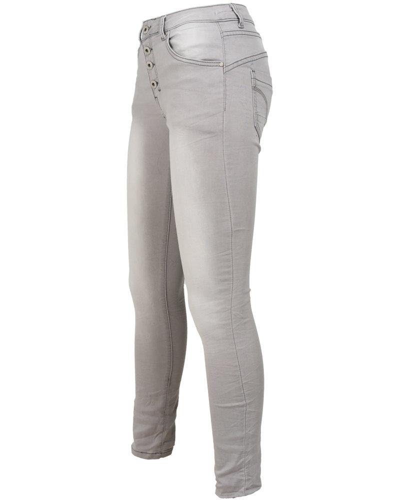 place du Jour Jog jeans Leonie grijs