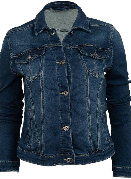place du Jour Spijker jas June donkerblauw