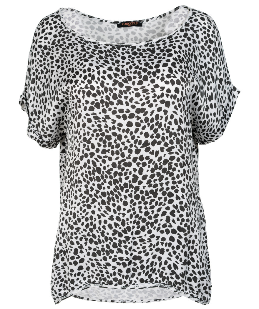 Gemma Ricceri Shirt silk touch wit Silvia