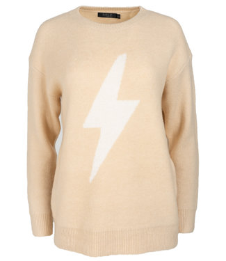 Rebelz Collection Trui beige Sil