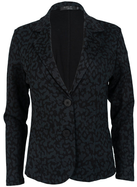 Rebelz Collection Blazer zwart/grijs Joan