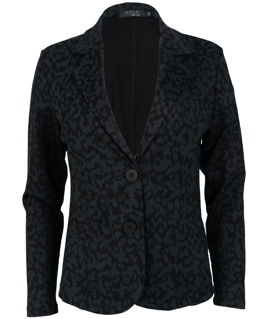 Rebelz Collection Blazer zwart/grijs Joan