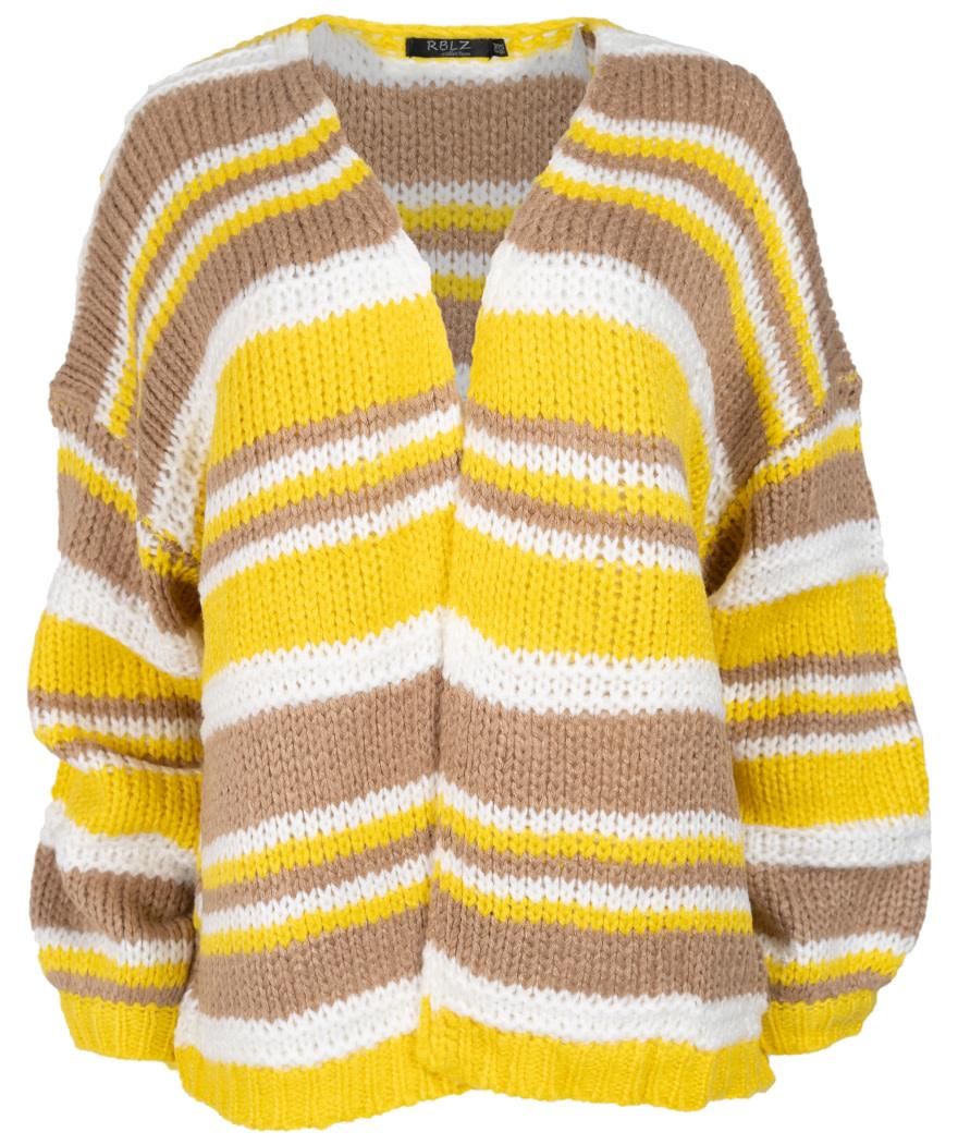 Rebelz Collection Vest geel/beige Jacky