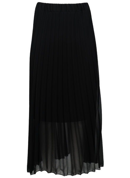 Gemma Ricceri Rok zwart plisse Tanja