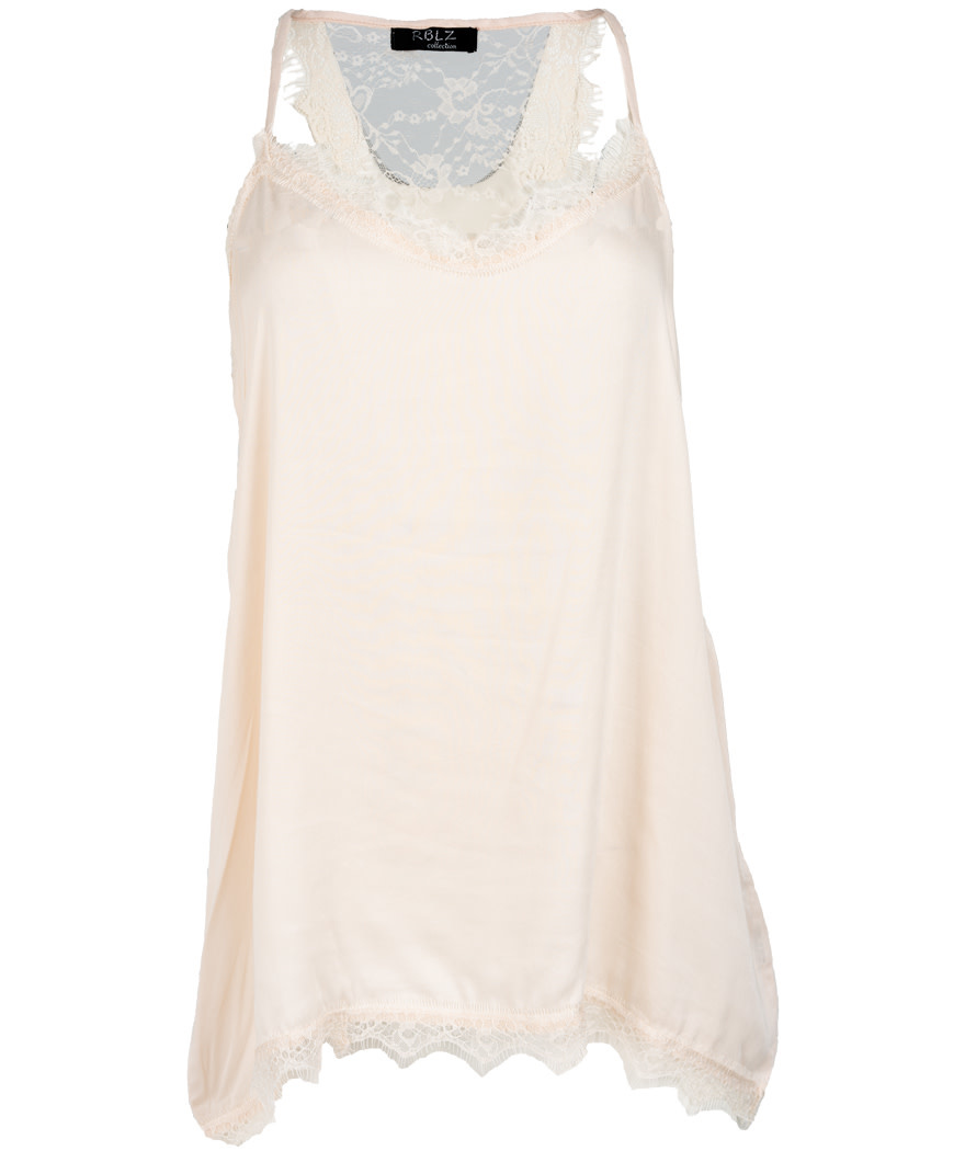 Rebelz Collection Top beige Lace