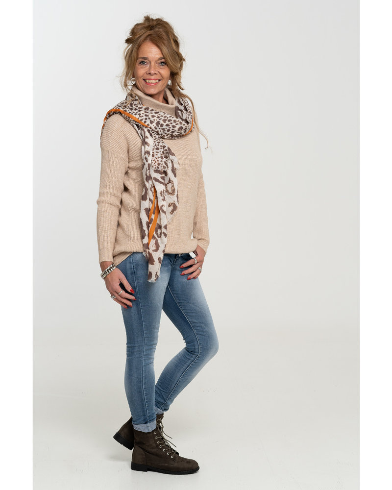 Rebelz Collection Trui beige Merle
