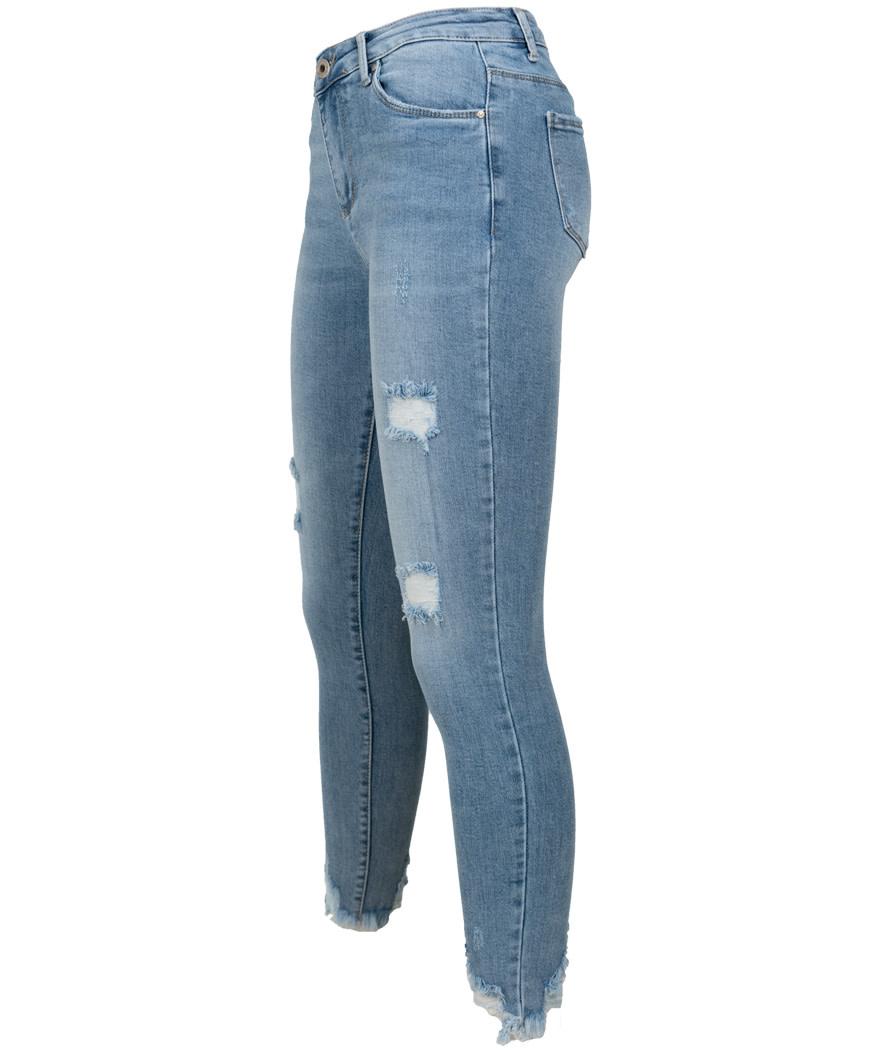 Wannahavesfashion Jog jeans lichtblauw Monica