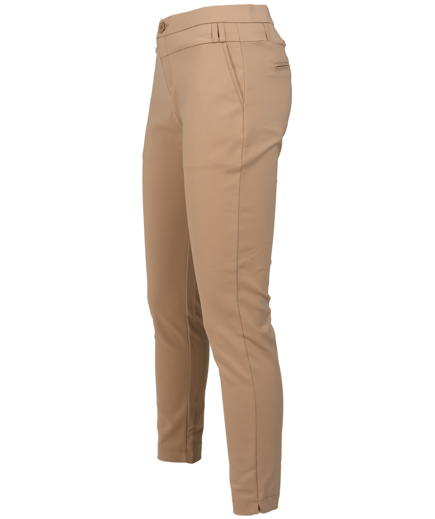 Wannahavesfashion Pantalon beige Tracy