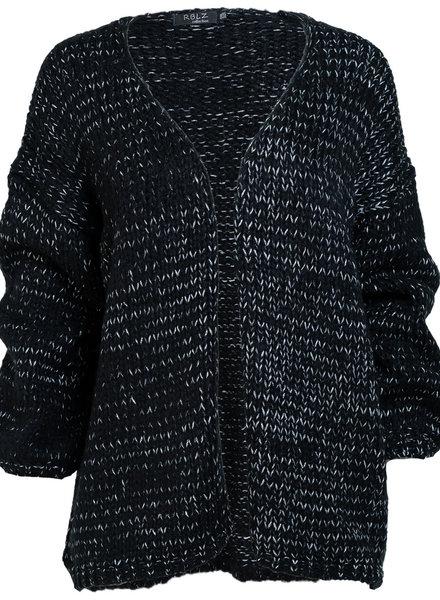 Rebelz Collection Vest Klara zwart