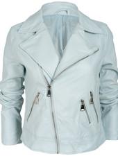 Gemma Ricceri Bikerjacket lichtblauw Puck