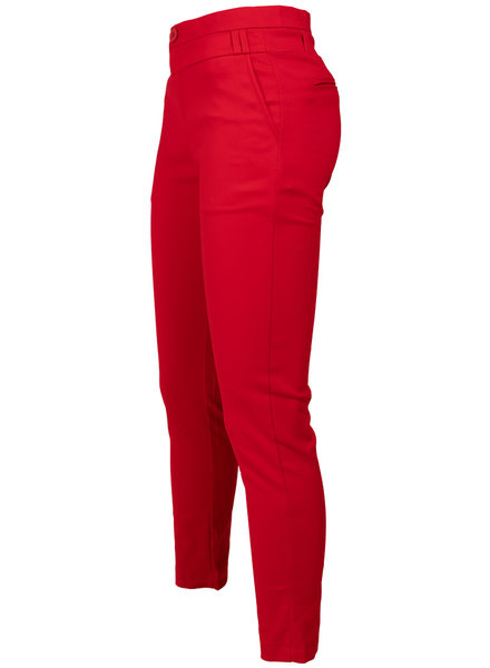 Wannahavesfashion Pantalon rood Tracy