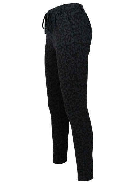 Rebelz Collection Pantalon zwart/grijs Joan